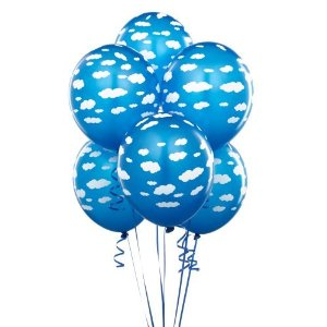 Party-balloons-Cyan-white-cloud-balloons-6-count